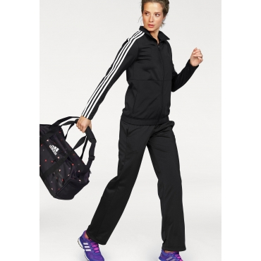 adidas Performance Trainingsanzug »BACK2BASIC 3S TRACKSUIT« (Set, 2 tlg.), schwarz, Gr.L-XXL