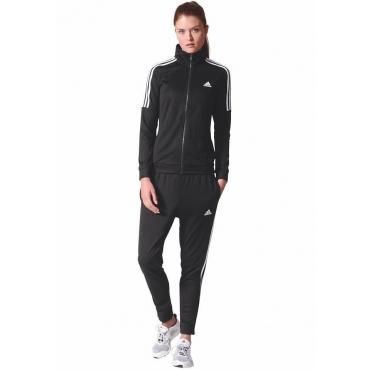 Trainingsanzug, schwarz-weiß, Gr.L-XXL