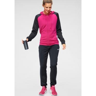Trainingsanzug, pink-dunkelblau, Gr.L-XXL