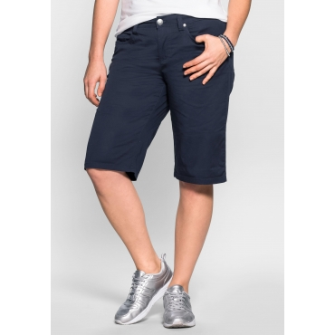 BASIC Bermudas in 5-Pocket-Form, marine, Gr.40-58