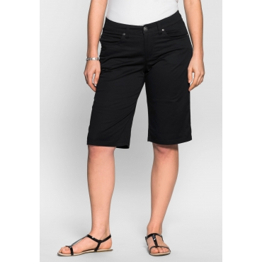 BASIC Bermudas in 5-Pocket-Form, schwarz, Gr.40-58