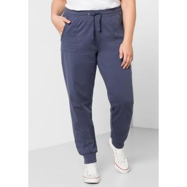 BASIC Sweathose mit elastischem Bund, jeansblau, Gr.44-58