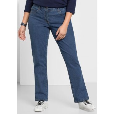 Gerade Stretch-Jeans LANA in 5-Pocket-Form, blue Denim, Gr.21-104