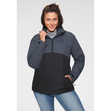 3-in-1-Funktionsjacke, anthrazit, Gr.44-58