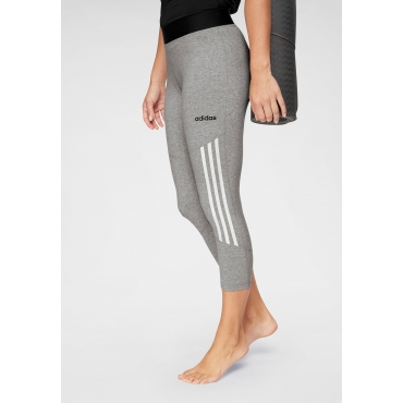 Große Größen: adidas Lauftights »DESIGNED TO MOVE HIGH RISE 34 COTTON«, grau meliert, Gr.L-XXL