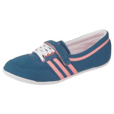 Große Größen: adidas Originals Concord Round W Sneaker, Blau-Rosa, Gr.36-42