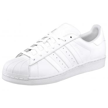 Große Größen: adidas Originals Superstar Sneaker, Weiß, Gr.38-47