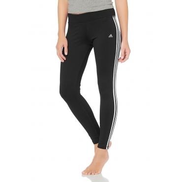 Große Größen: adidas Performance CLIMA 3S ESS TIGHT Funktionstights, Schwarz-Weiß, Gr.XL (48)-XL (48)