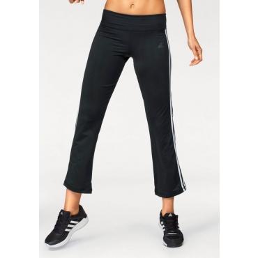 Große Größen: adidas Performance Jazzpants »BRUSHED 3S PANT«, schwarz (kurz), Gr.L-XXL