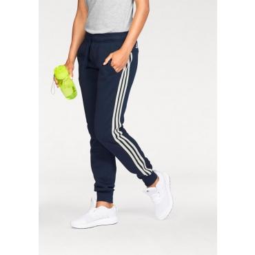 Große Größen: adidas Performance Jogginghose »ESSENTIALS 3 STRIPES PANT CUFFED«, marine-weiß, Gr.L-XXL