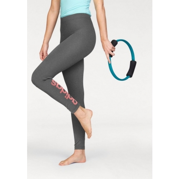 Große Größen: adidas Performance Leggings »ESSENTIALS LINEAR TIGHT«, grau, Gr.L-XXL