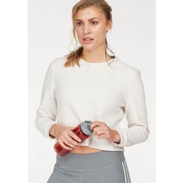 Große Größen: adidas Performance Sweatshirt »PERFORMANCE SWEATSHIRT«, offwhite, Gr.L-XXL