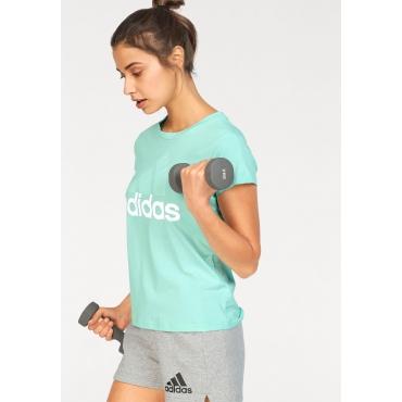 Große Größen: adidas Performance T-Shirt »ESSENTIAL LI SLI TEE«, mint, Gr.L-XXL