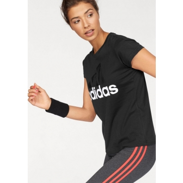 Große Größen: adidas Performance T-Shirt »ESSENTIAL LI SLI TEE«, schwarz, Gr.L-XXL