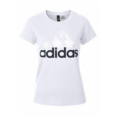 Große Größen: adidas Performance T-Shirt »ESSENTIAL LI SLI TEE«, weiß, Gr.L-XXL