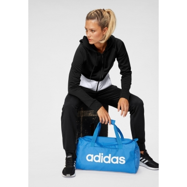 Große Größen: adidas Trainingsanzug, schwarz, Gr.L-XXL