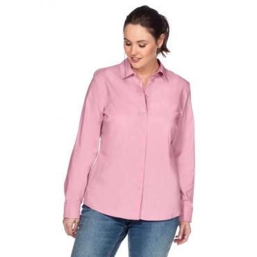 Große Größen: BASIC Stretch-Bluse, rosé, Gr.40-58