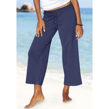 Große Größen: Beachtime 7/8-Strandhose, marine, Gr.44/46-56/58