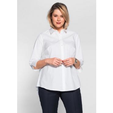 Große Größen: Bluse, weiß, Gr.40-58