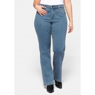 Bootcut Jeans MAILA mit seitlichen Taschen, blue Denim, Gr.44-58