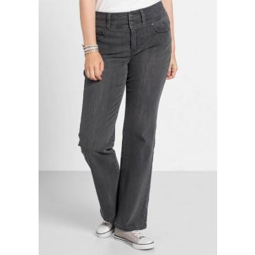 Große Größen: Bootcut-Stretch-Jeans, grey Denim, Gr.40-58