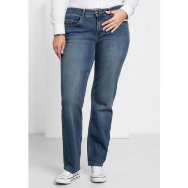 Große Größen: Gerade Stretch-Jeans LANA, blue Denim, Gr.20-116