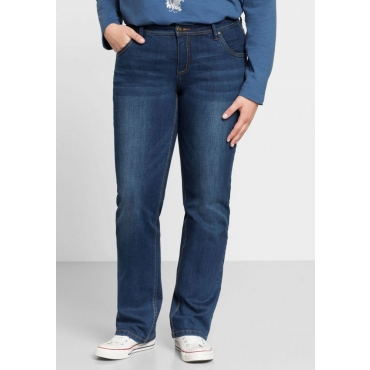 Große Größen: Gerade Stretch-Jeans LANA, blue Denim, Gr.22-104