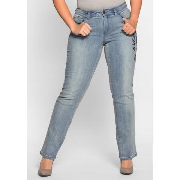 Große Größen: Gerade Stretch-Jeans LANA, light blue Denim, Gr.40-58