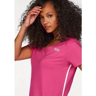 Große Größen: H.I.S T-Shirt, pink, Gr.40/42-56/58