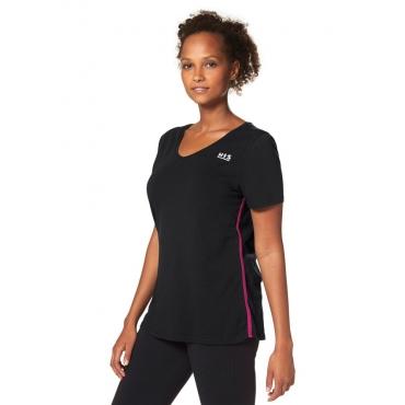 Große Größen: H.I.S T-Shirt, schwarz, Gr.40/42-56/58