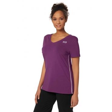 H.I.S T-Shirt, violett, Gr.40/42-56/58