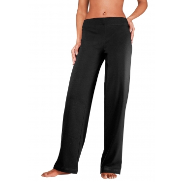Große Größen: Homewear-Leggings, schwarz, Gr.40/42-56/58