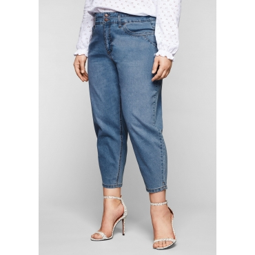 Jeans mit ballonförmigem Bein, in 7/8-Länge, light blue Denim, Gr.44-58