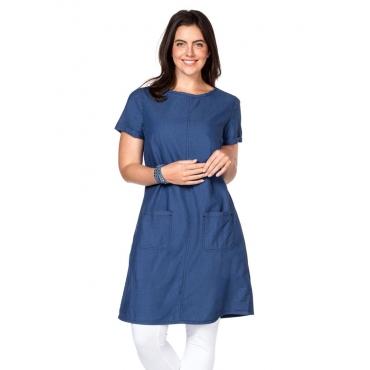 Große Größen: Jeanskleid, blue Denim, Gr.40-58