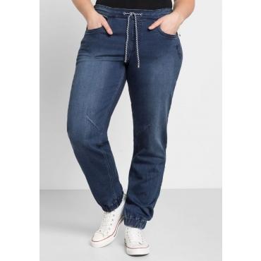 Große Größen: Jeans aus Sweat-Denim, blue Denim, Gr.44-58