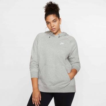Kapuzensweatshirt, grau meliert, Gr.44/46-52/54