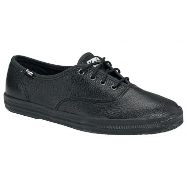 Große Größen: Keds Champion Leather Sneaker, Schwarz, Gr.36-42,5