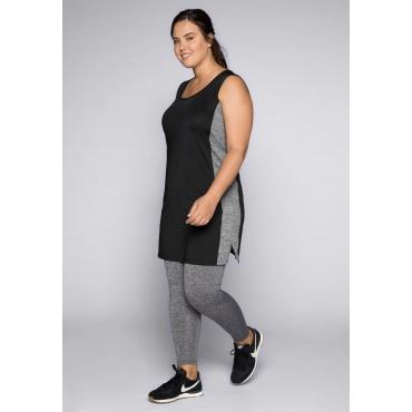 Große Größen: Kleid aus Funktionsmaterial, schwarz, Gr.44-58