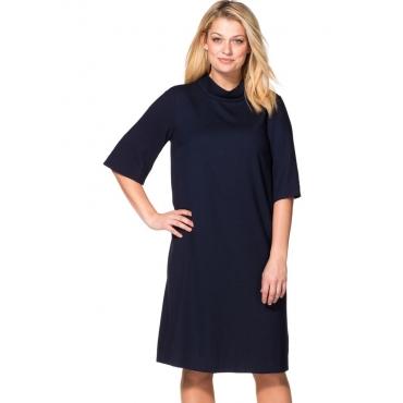 Große Größen: Kleid in A-Linie, marine, Gr.40-58