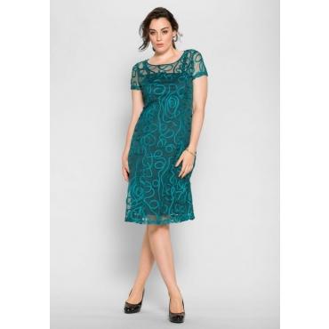 Große Größen: Kleid, opalgrün, Gr.40-58