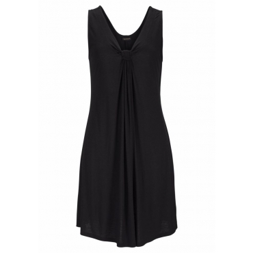 Große Größen: LASCANA Strandkleid, schwarz, Gr.38-54