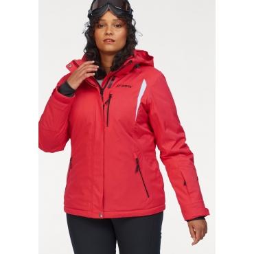 Große Größen: Maier Sports Skijacke, rot, Gr.44-58