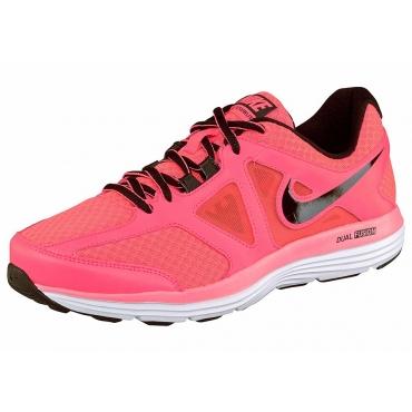 Große Größen: Nike Dual Fusion Lite 2 MSL Wmns Laufschuh, Pink-Schwarz, Gr.42-42