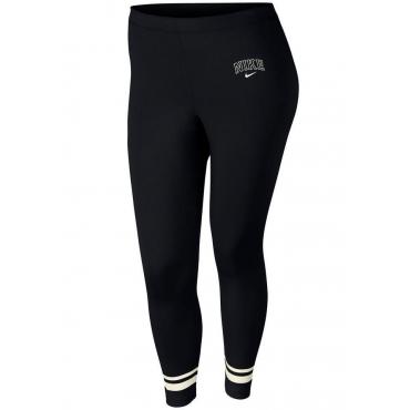 Große Größen: Nike Sportswear Leggings »WOMEN NIKE SPORTSWEAR LEGGINGS VERISTY PLUS SIZE«, anthrazit meliert, Gr.XL-XXXL