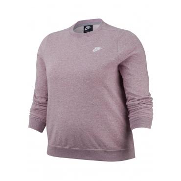 Nike Sportswear Sweatshirt »WOMEN NIKE SPORTSWEAR CLUB CREW FLEECE PLUS SIZE«, flieder, Gr.XL-XXXL