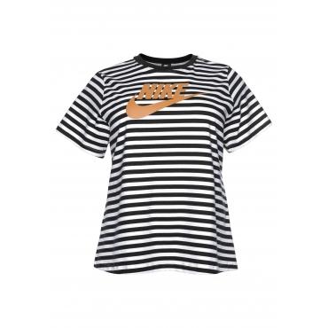 Große Größen: Nike Sportswear T-Shirt »WOMEN NIKE SPORTSWEAR TOP SHORTSLEEVE PLUS SIZE«, weiß, Gr.XL-XXXL