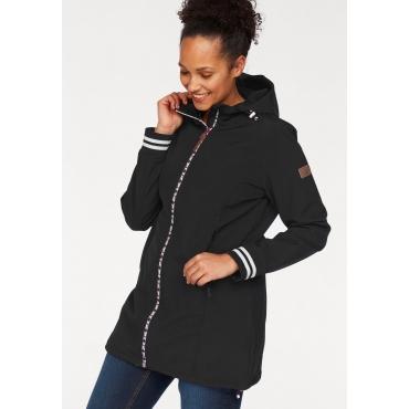 Große Größen: Ocean Sportswear Softshelljacke, schwarz, Gr.40-58