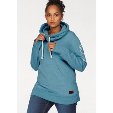 Große Größen: Ocean Sportswear Sweatshirt, petrol meliert, Gr.40/42-56/58