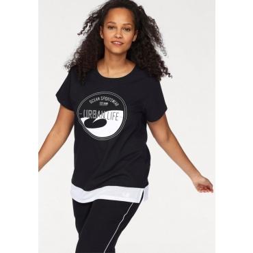 Große Größen: Ocean Sportswear T-Shirt, schwarz, Gr.40/42-56/58