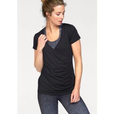 Große Größen: Ocean Sportswear Yogashirt, schwarz, Gr.40/42-56/58
